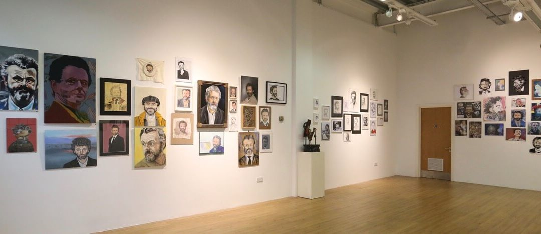 Swansea artists picture Michael Sheen