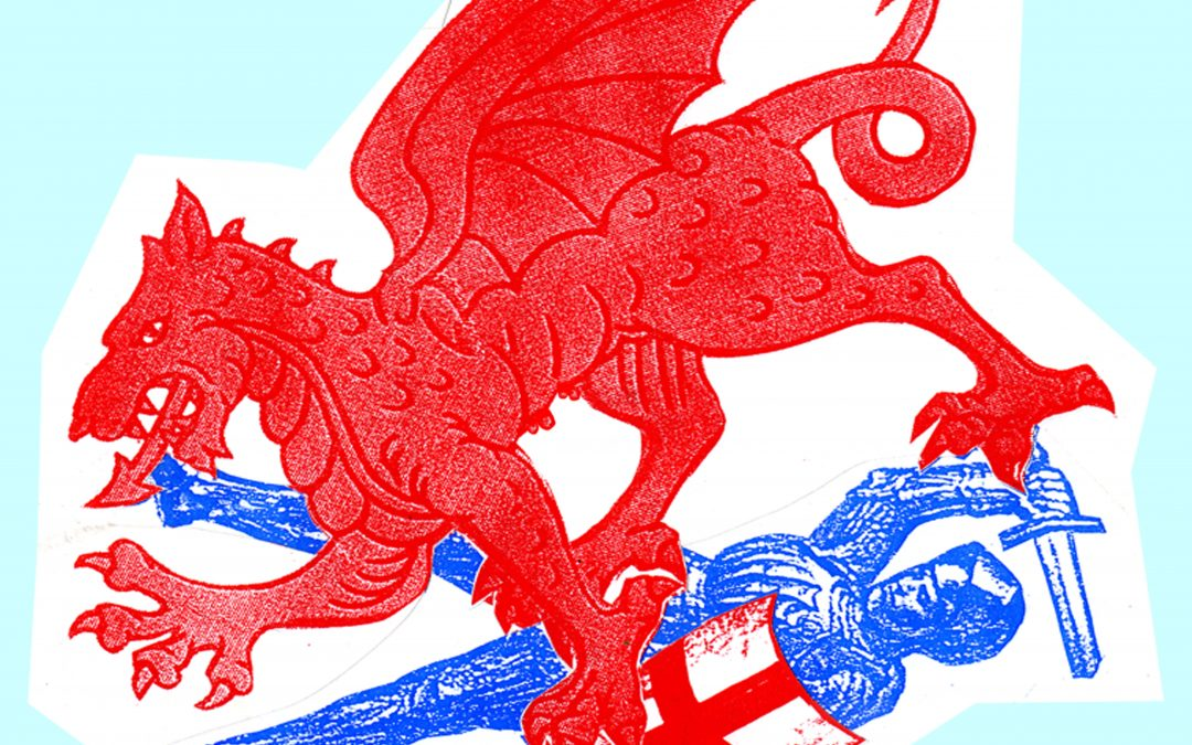 Jamie Reid on his Dragons Revenge limited edition print
